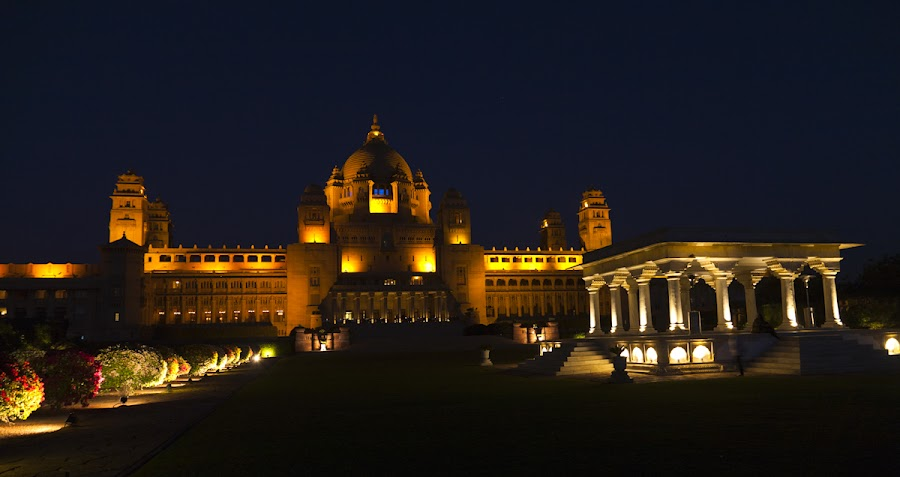 The Umaid Bhawan Palace, Jodhpur by Dhiraj Sapru - Buildings & Architecture Public & Historical ( photography )