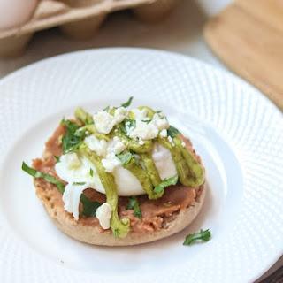 Mexican Eggs Benedict with Avocado Hollandaise Recipe