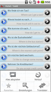 iSayHello German - English USA screenshot 2
