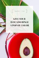 Avocado Binge - Pinterest Pin item