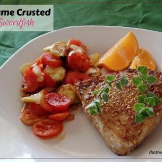 Sesame Crusted Swordfish