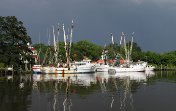 Photo: Shrimp boats docked in Georgetown S.C.