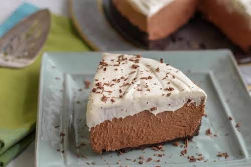 """Heavenly Chocolate Mousse Pie""""This pie only takes about 10 minutes to prepare...."""
