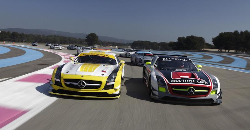 Photo: The SLS AMG GT3