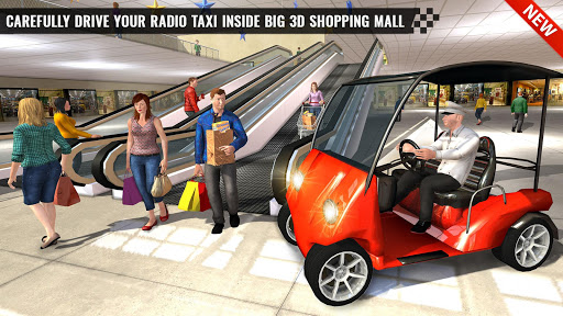 Shopping Mall Smart Taxi: Family Car Taxi Games 1.1 screenshots 4