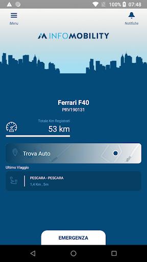 Infomobility.it 1.0.8 screenshots 1