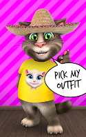 Screenshot of Talking Tom Cat 2
