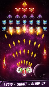 Space Shooter: Galaxy Attack v1.455 Apk + Mod  for Android free 5