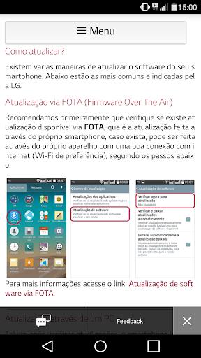 LG Suporte 2.1.2.0 screenshots 3