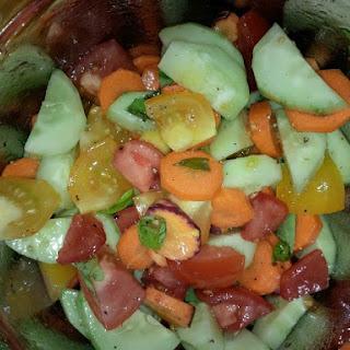 Summer Vegetable Salad Recipe