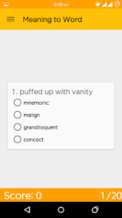 GRE Picture Vocab & Flashcards- screenshot thumbnail