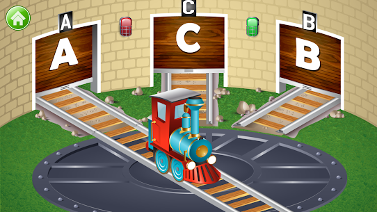 Learn Letter Names and Sounds with ABC Trains 4