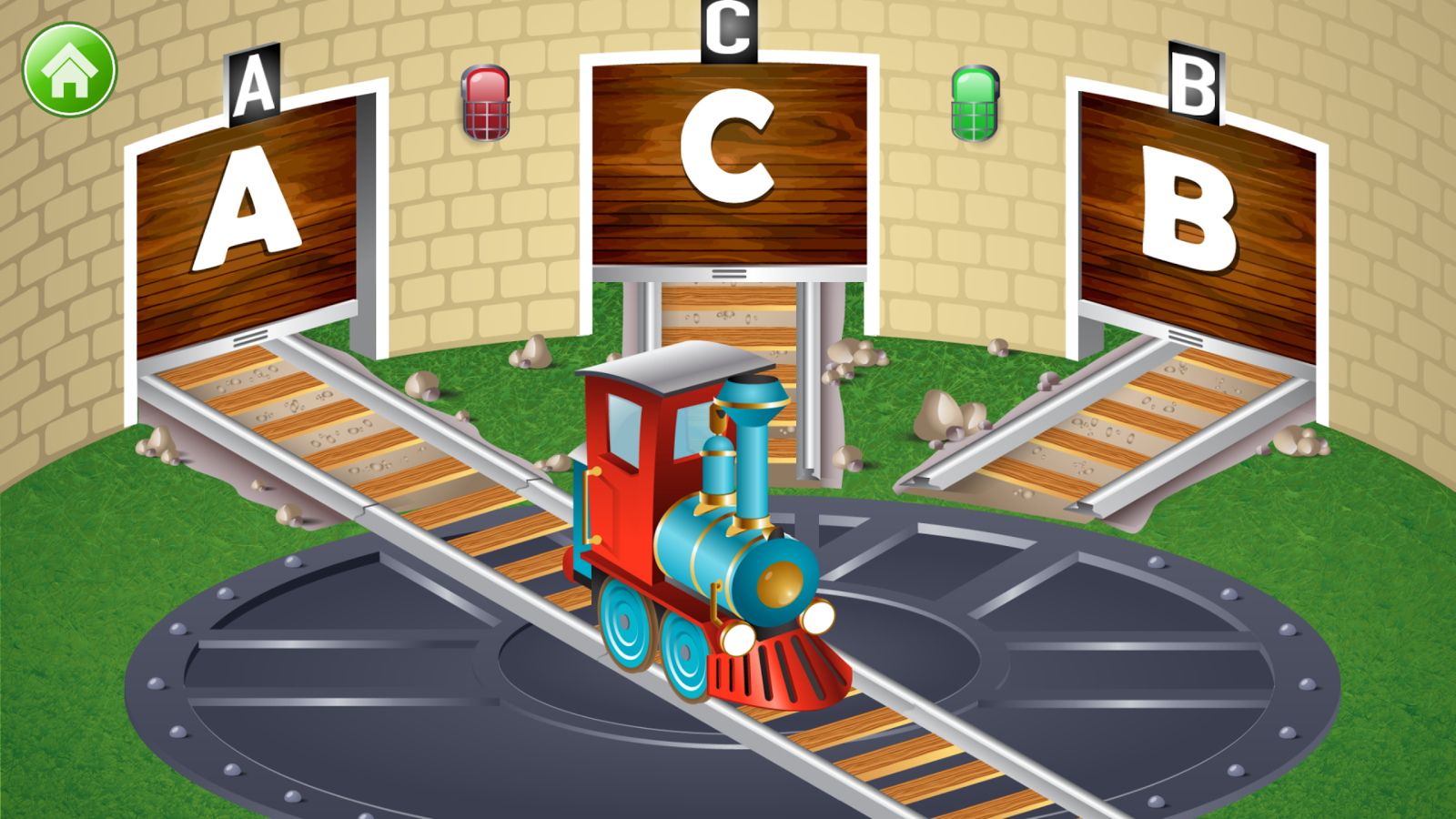 learn letter names and sounds with abc trains android apps on