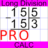 Long Division Calc PRO