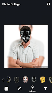 Anonymous Face Mask - náhled