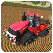 Farming Sim : 3D Cargo Tractor Driving Games 2018