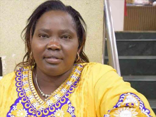 A file photo of Baringo South MP Grace Kipchoim. /JOSEPH KANGOGO