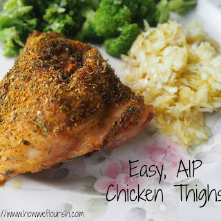 Easy AIP Chicken Thighs