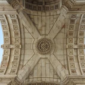 Rua Augusta Arch by Ana Paula Filipe - Buildings & Architecture Architectural Detail ( lisbonne, city, street, arch, building )