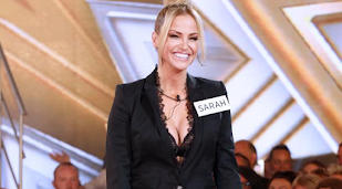 Sarah Harding secretly sipping booze in 'CBB' house
