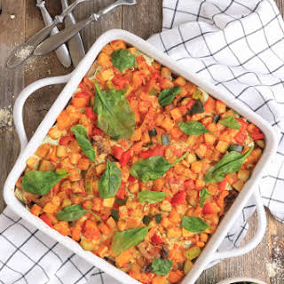 Summer Veggie Lasagna (V/GF).