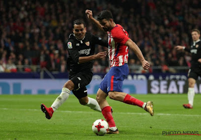 Coup dur pour l'Atlético qui sera privé de Diego Costa!