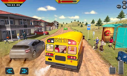Off Road School Bus : Uphill Driving Simulator - náhled