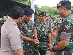 Apel gabungan TNI-Polri Di Kabupaten Ngawi
