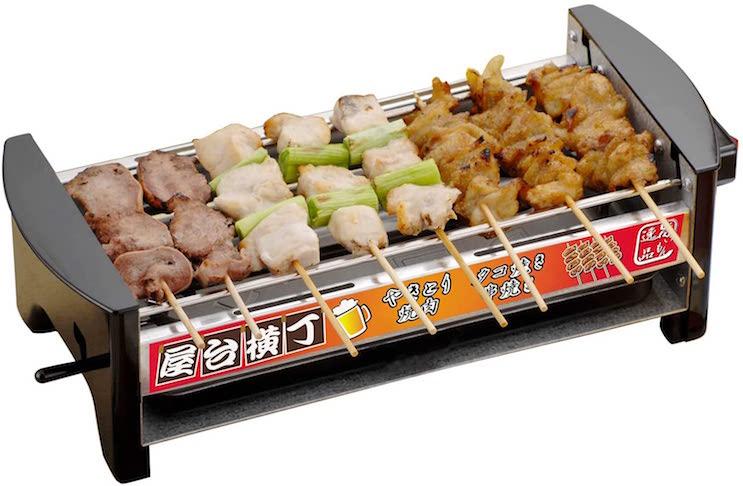 三ッ谷電機 屋台横丁 卓上焼き鳥 焼肉 たこ焼き器