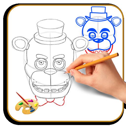 App Insights: How To Draw Freddy Fazbear | Apptopia