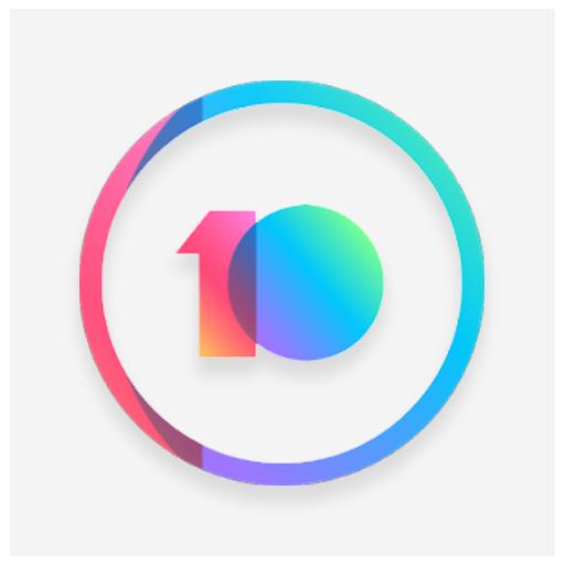 MIUI 10 Pixel  icon pack