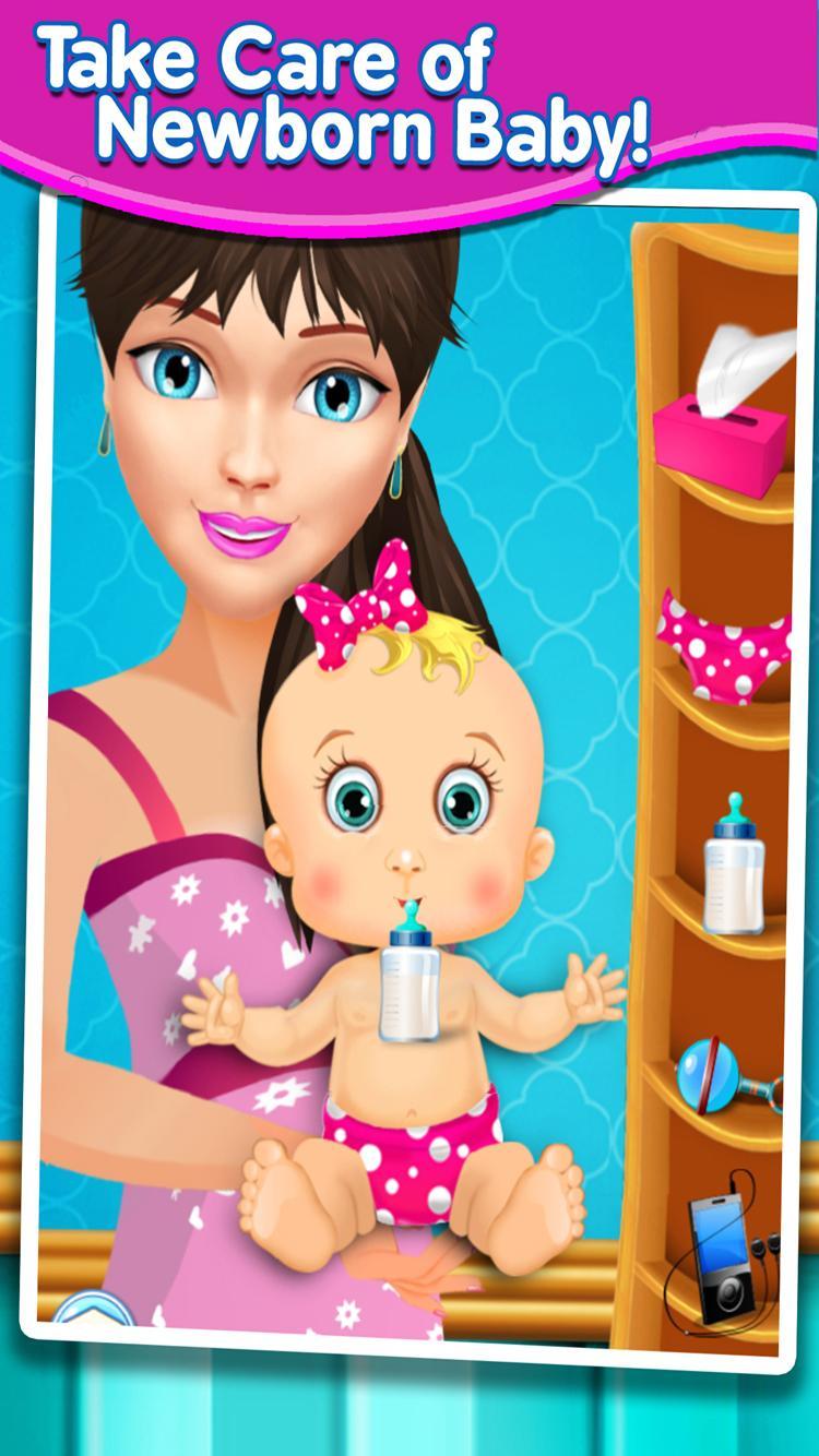 Скриншот Newborn Baby & Mom Doctor Care