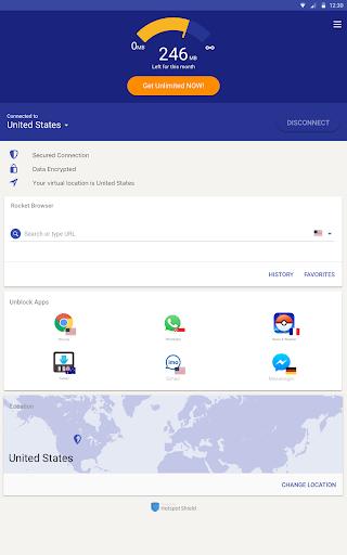 Rocket VPN – Internet Freedom VPN 1.25 screenshots 6