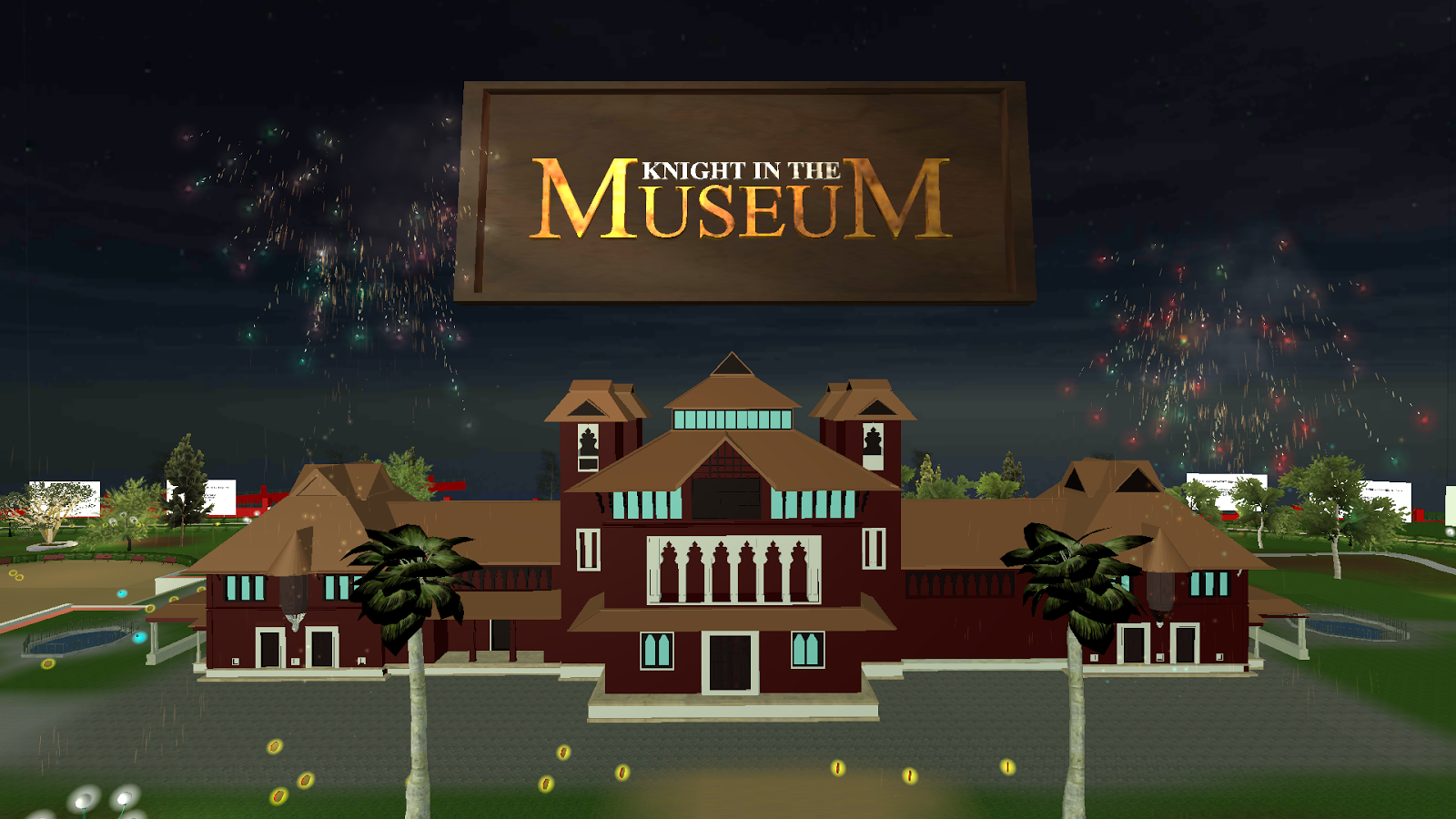 Knight In The Museum- screenshot