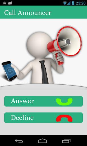 Call SMS Announcer-Dual