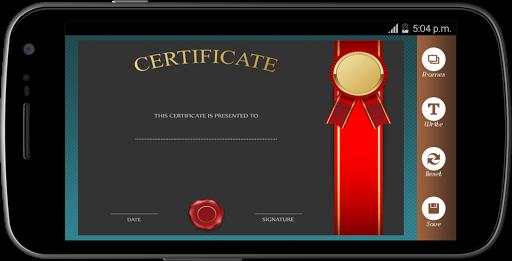 Certificate Maker app pro  screenshots 3