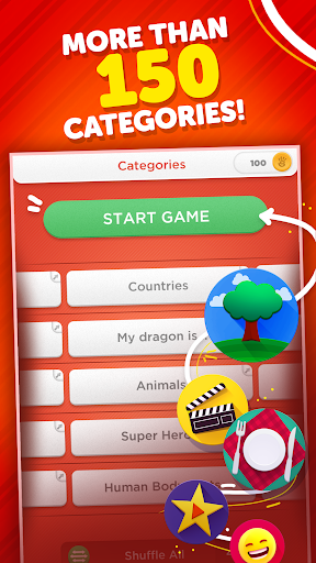 Stop - Categories Word Game 3.16.1 screenshots 3