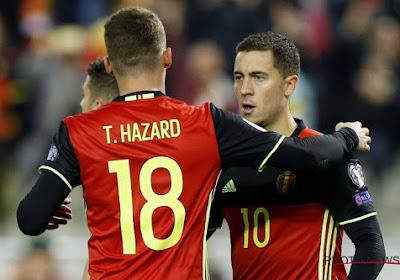 🎥 Eden et Thorgan Hazard décrivent leurs sensations lorsqu'ils jouent ensemble en équipe nationale