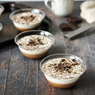 Tiramisu Flavored Gelatin Desserts (low carb).