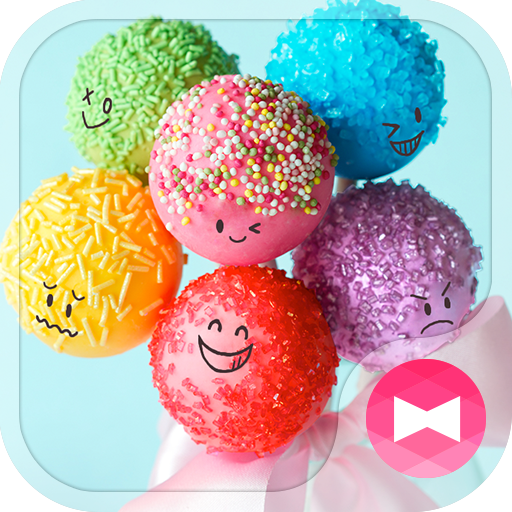 Cute Theme-Colorful Candy- Icon