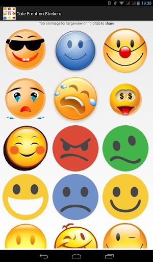 Cute Emotion Sticker