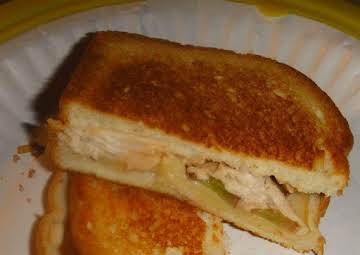 Grilled Chicken Sandwich with Grapes and Gruyere