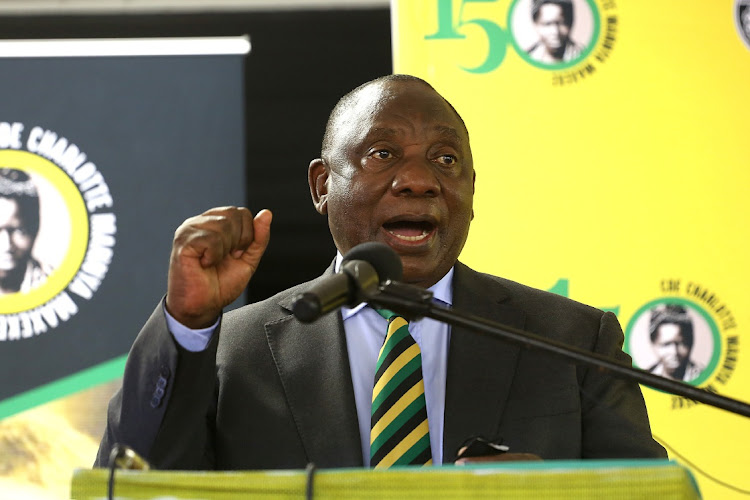 President Cyril Ramaphosa continues to navigate the political minefield of leading the ANC.