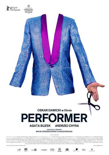 Polski plakat filmu 'Performer'