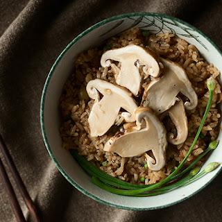 Matsutake Gohan, Japanese Matsutake Rice
