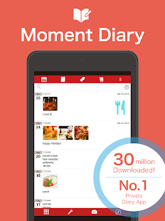 Moment Diary- screenshot thumbnail