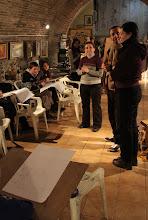 Photo: Dviejų turkų menininkų studijoje.  At two Turkish artist studio.