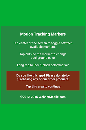 Motion Tracking Markers