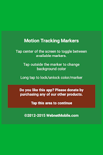 Motion Tracking Markers- screenshot thumbnail