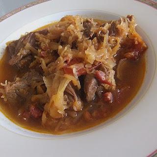 Szegediner Gulasch – Hungarian Beef Stew